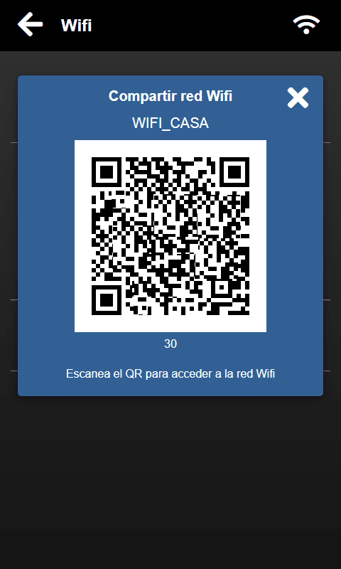 Compartir WiFi Qvadis