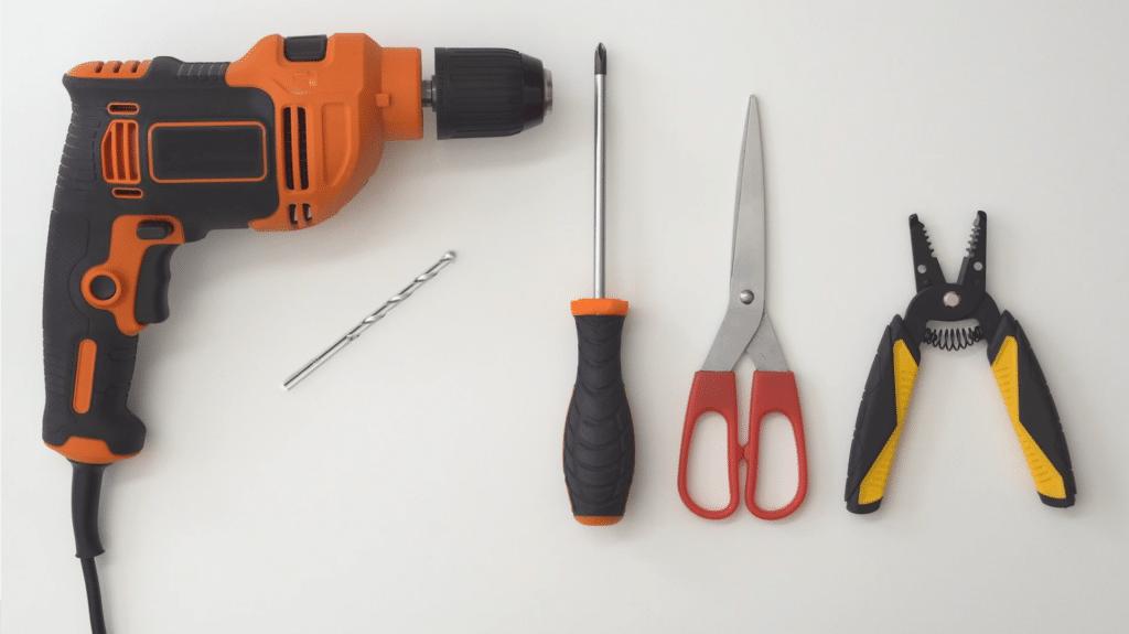 herramientas para montar un telefonillo