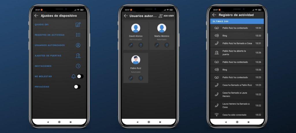 desconectar Qvadis One -telefonillo inteligente
