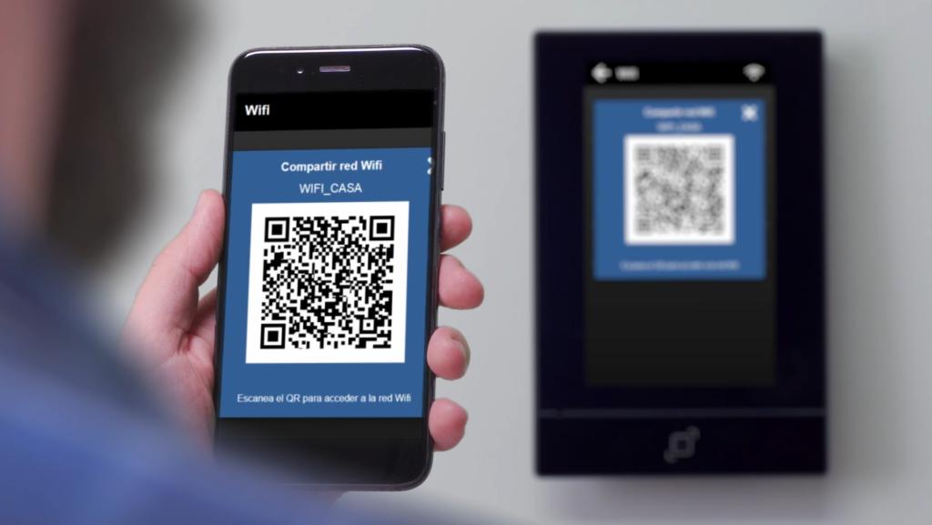 compartir wifi con qr - Qvadis One