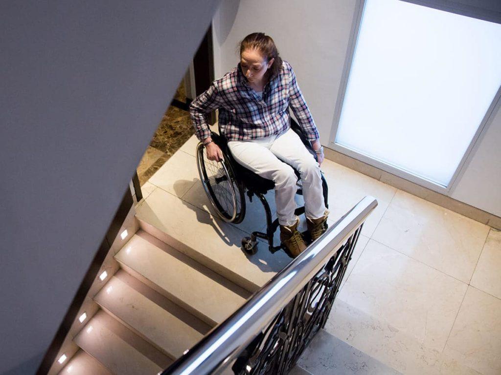 Accesiblidad para personas con movilidad reducida