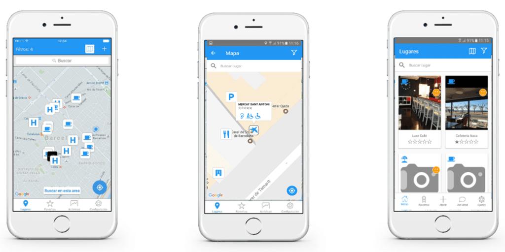 productos de apoyo para personas con movilidad reducida-mapp4ll app